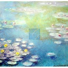모네 명화그림 - 지베르니의수련화(캔버스화)