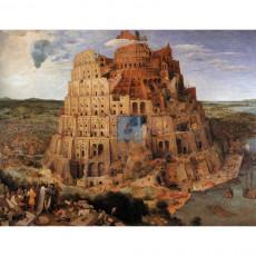 브뢰헬 명화그림 - 바벨탑(캔버스화)