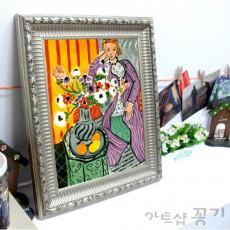 화장실액자 명화소품액자 - 연보라색 드레스 / 마티스
