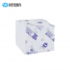뽀삐® 엠보싱 벌크팩 화장지 300매(1겹)/9000매