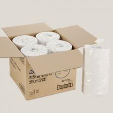 [유한킴벌리]세이브 점보롤 화장지 250m2겹16롤/박스
