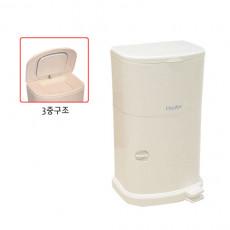 화장실 휴지통 매직캔 화장실휴지통 쓰레기통 16리터 M250D